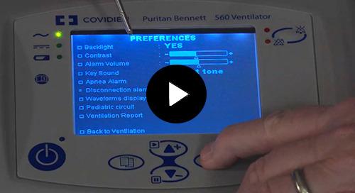 Video: Puritan Bennett™ PB560 Pressure Based Modes
