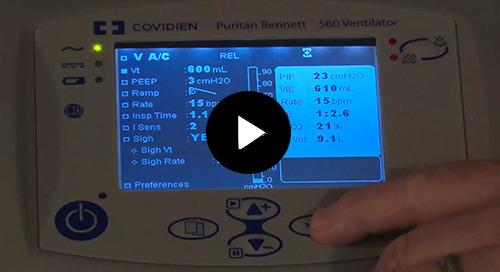 Video: Puritan Bennett™ PB560 Volume Based Modes