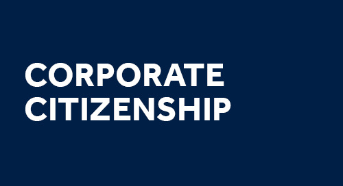 Learn about our commitment to global corporate citizenship.