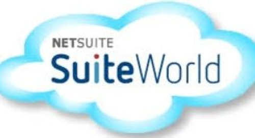 Netsuite SuiteWorld | Apr 23-26 | Las Vegas, NV