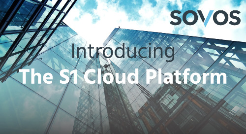 Sovos Unveils S1 Cloud Platform to Prepare Businesses for Digital Tax Enforcement Globally
