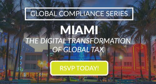 Sovos GCS Miami | Nov 1 | Miami, FL