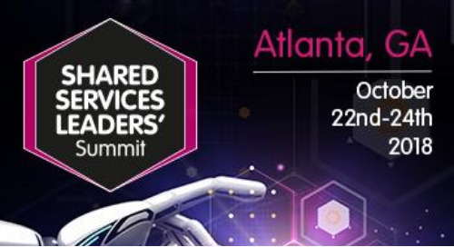 Shared Services Leaders' Summit Atlanta 2018