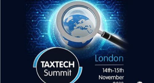 TaxTech Summit 2018 | London | November 14-15