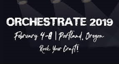 Orchestrate 2019 | Feb 4-8 | Portland, OR