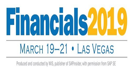 Financials 2019 | Mar 19-21 | Las Vegas, NV