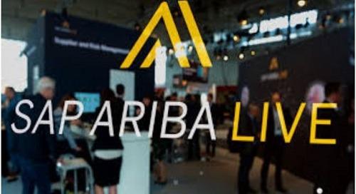SAP Ariba Live | Apr 1-4 | Austin, TX