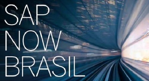 SAP NOW Brasil | 11-12 de Setembro | São Paulo, Brasil