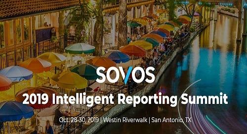 2019 GCS Intelligent Reporting Summit | Oct 28-30 | San Antonio, TX