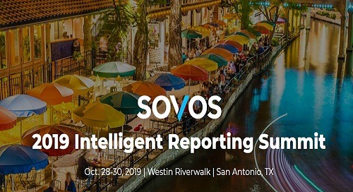2019 GCS Intelligent Reporting Summit | Oct 28-30 | San Antonio, TX