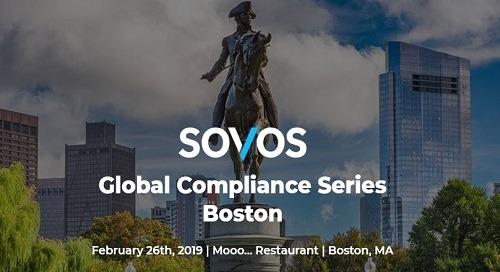 Sovos GCS Boston | Feb 26 | Boston, MA