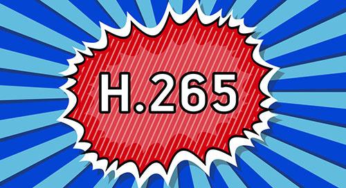 準備以 H.265 轉碼器執行可縮放視訊串流處理