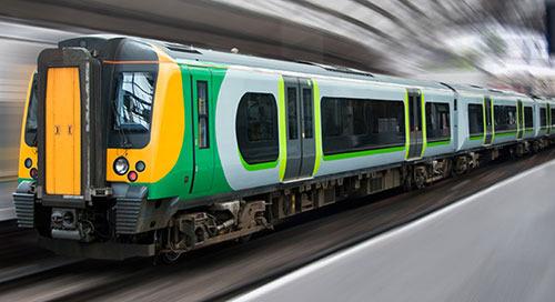 在鐵路系統中使用工業物聯網 (IIoT) 資料庫