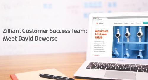 Zilliant Customer Success Team: Meet David Dewerse