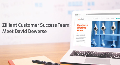 Zilliant Customer Success Team: Meet David Dewerse