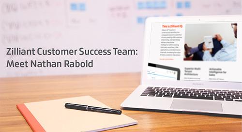 Zilliant Customer Success Team: Meet Nathan Rabold