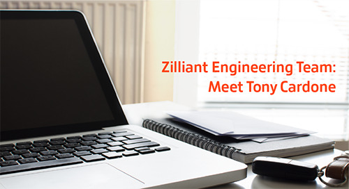Zilliant Engineering Team: Meet Tony Cardone
