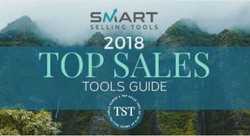 2018 Top Sales Tools Guide