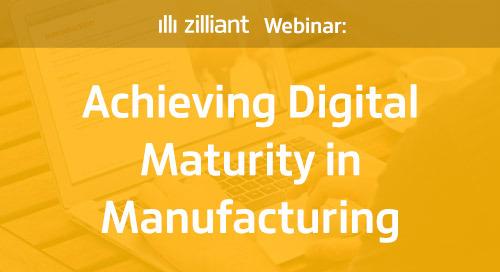 Achieving Digital Maturity in Manufacturing