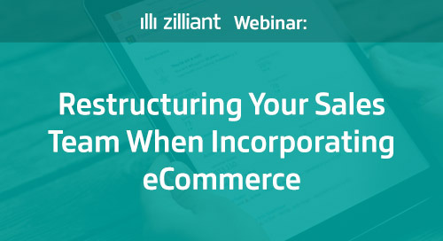 Restructuring Your Sales Team When Incorporating eCommerce