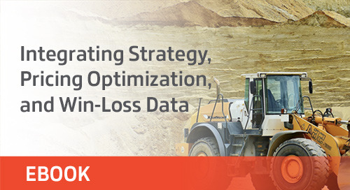 Integrating Strategy, Pricing Optimization, and Win-Loss Data