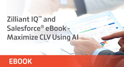 Zilliant IQ™ and Salesforce® eBook - Maximize CLV Using AI