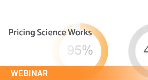 Webinar: Pricing Science Works