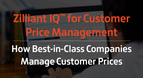 How Best-in-Class Companies Create, Maintain and Renew Customer Prices to Maximize Profitability