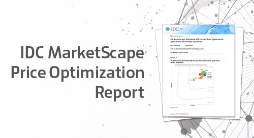 IDC MarketScape Price Optimization Report