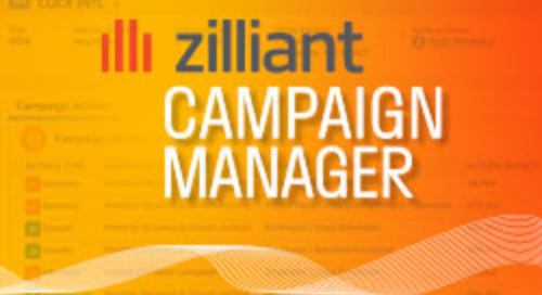 New Product Alert: Zilliant Campaign Manager™