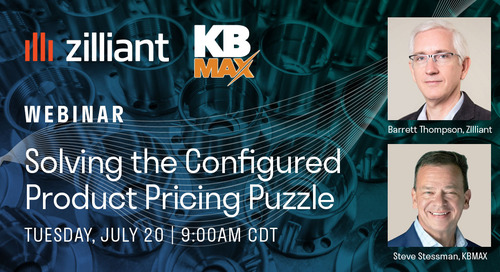 [WEBINAR] Solving the Configured Product Pricing Puzzle