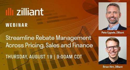 [WEBINAR] Streamline Rebate Management across Pricing, Sales and Finance
