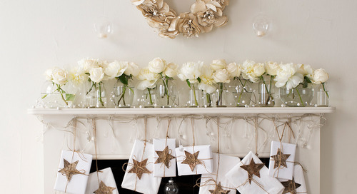 Un foyer festif pour Noël
