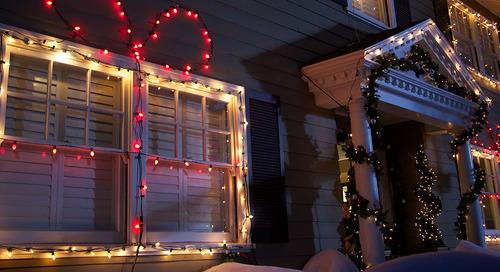 Lumières de Noël extérieures originales
