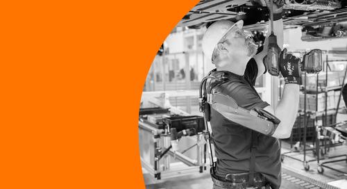 New exoskeleton is revolutionizing work processes