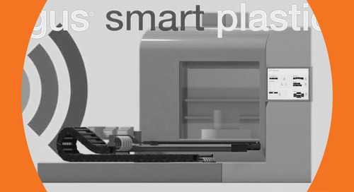 Eliminate unplanned downtime. smart plastics - predictive maintenance.