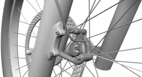 Plastic bushings for bikes