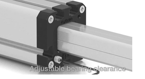 DryLin® Q torque resistant square linear guide