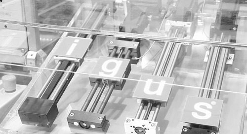 igus Design World product spotlight Linear Guide