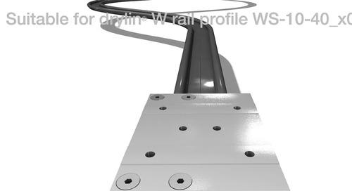 igus® introduces the DryLin Curved Rail