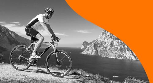 igus® plastic bearings podium across the cycling world