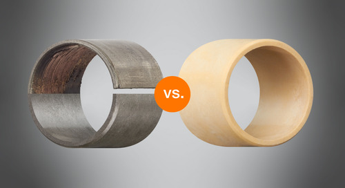 5 reasons to replace PTFE-lined bearings