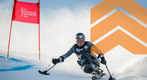 Engineering the fastest adaptive ski equipment with plastic bushings