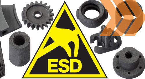 3D Printing Wear-Resistant Components With ESD Properties