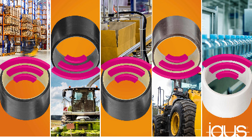 """Prevent unplanned downtime and machine failures with """"smart"""" plastic bearings"""