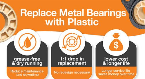igubal® JEM insert bearings infographic
