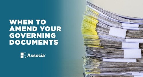 When to Amend Your Governing Documents