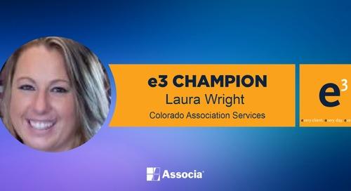 e3 Champion: Providing Platinum Service