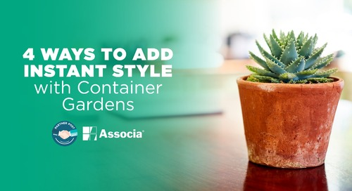 Partner Post: 4 Ways to Add Instant Style with Container Gardens