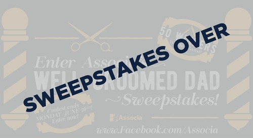 Enter Associa's Well-Groomed Dad Sweepstakes!